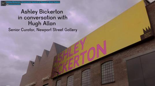 Ashley Bickerton: Ornamental Hysteria