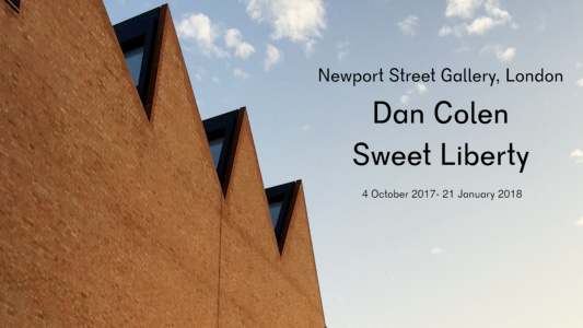 Dan Colen: Sweet Liberty at Newport Street Gallery