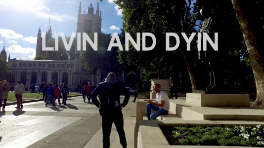 Livin & Dyin, a Performance by Dan Colen