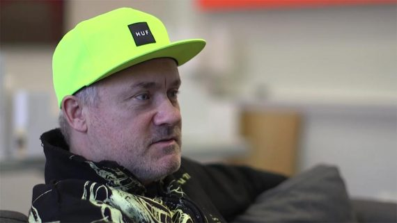 Damien-Hirst-Interview-about-John-Hoyland-Exhibition-at-Newport-Street-Gallery-London