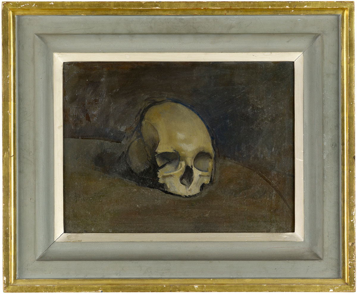 Rodrigo-Moynihan-The-Skull-Newport-Street-Gallery-London