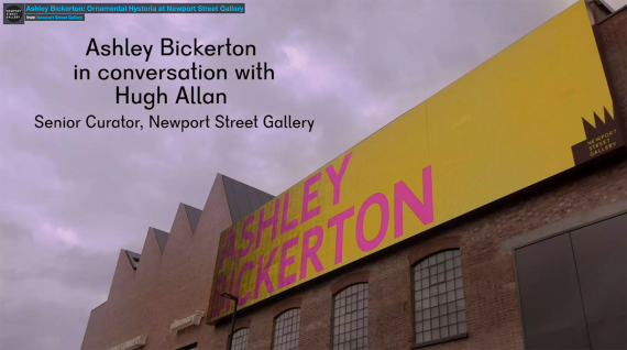 Ashley-Bickerton-In-Conversation-with-Hugh-Allan-at-Newport-Street-Gallery