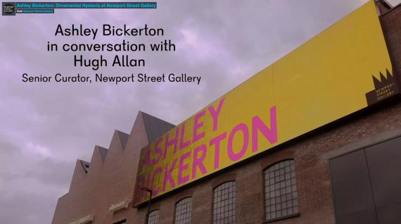Ashley-Bickerton-In-Conversation-with-Hugh-Allan-at-Newport-Street-Gallery