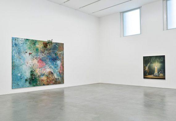 Dan-Colen-Sweet-Liberty-Exhibition-at-Nepwort-Street-Gallery-London