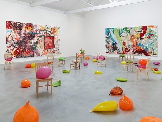 Dan-Colen-Sweet-Liberty-Exhibition-at-Nepwort-Street-Gallery-London