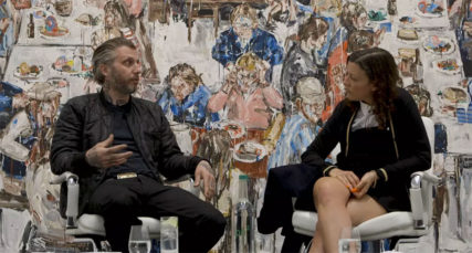 John-Copeland-in-conversation-with-Francesca-Gavin-at-Newport-Street-Gallery-London