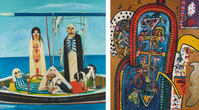 John Bellany and Alan Davie: Cradle of Magic
